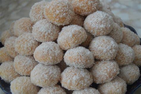 recette cuisine marocaine gâteau marocain gâteau richbond boule de noix de coco à