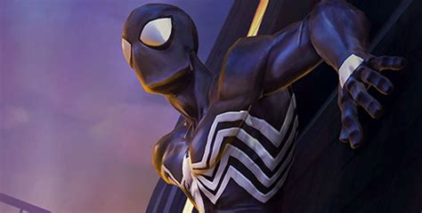 diy black suit spider man costume part