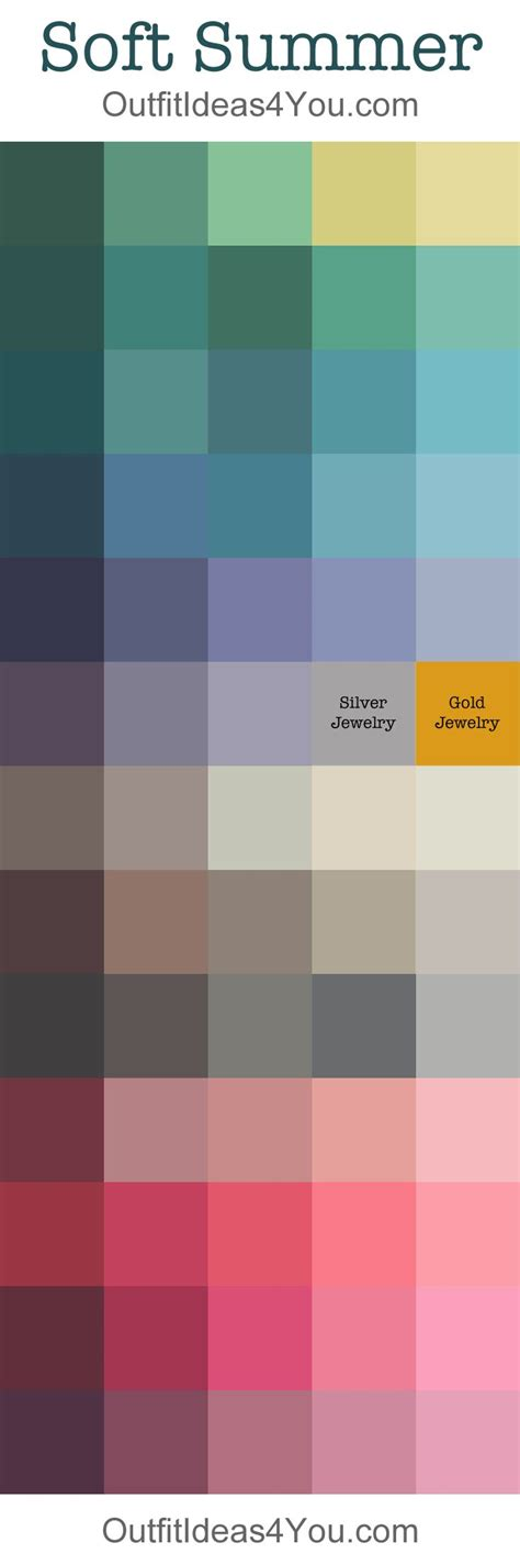 summer color palette 25 best ideas about summer color palettes on