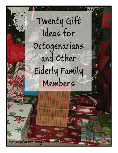 lawyer mom twenty gift ideas for octogenarians and other