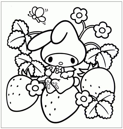 kawaii coloring pages coloring home