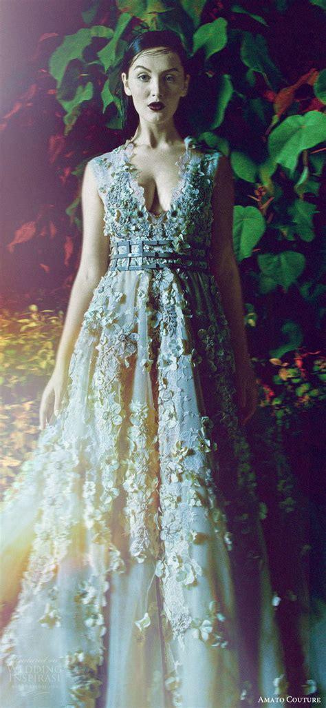 amato couture  collection  secret garden shoot