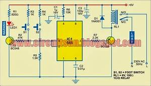 Simple Accurate Foot Switch Circuit Diagram
