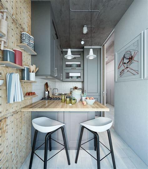takes    super small apartment interior