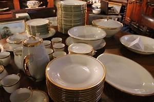 Service De Table Complet Pas Cher : exemple service de table porcelaine de limoges vaisselle maison ~ Melissatoandfro.com Idées de Décoration