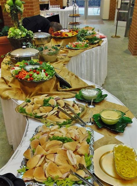 table cuisine pin catering for a special birthday celebration heavy finger