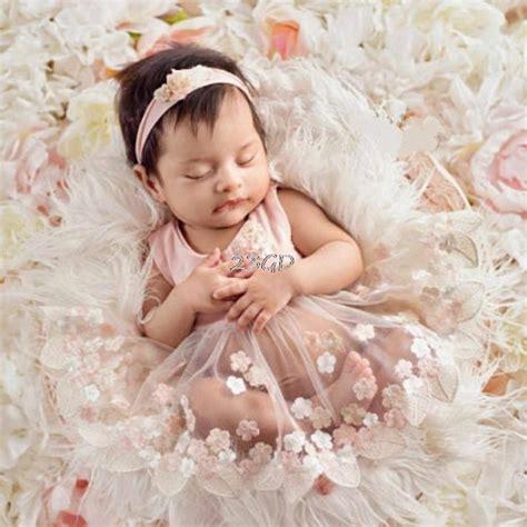acheter  mignon nouveau ne bebe filles tulle broderie