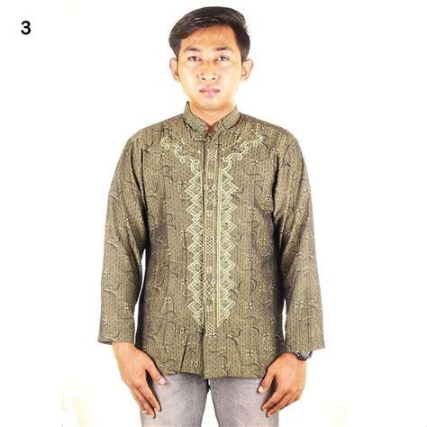 jual baju koko bordir fadel lengan panjang jaguar warna 5 di lapak jogja batik jogja batik
