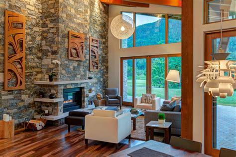 whistler mountain modern modern living room