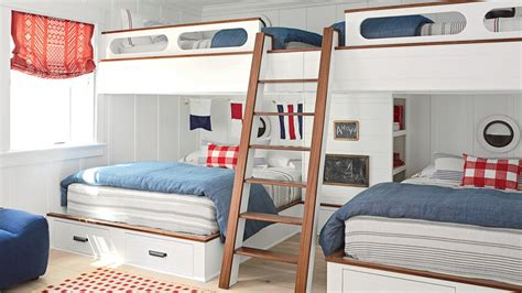 ceiling suspended bed design ceiling suspended bed design 20 beachy bunk rooms coastal living
