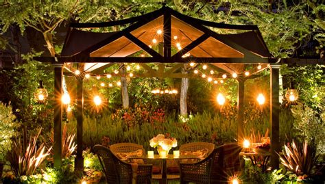 outdoor lighting for summer