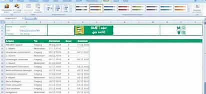 Excel Diagramm Gantt Daten Vorlage Erstellen Schritt