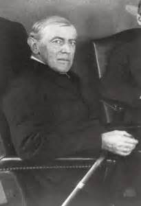 Woodrow Wilson Cabinet Members by Big Lie 17 Months Without A President Historynet