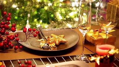 Christmas Wallpapers Dinner Table