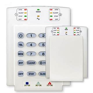 paradox security keypads