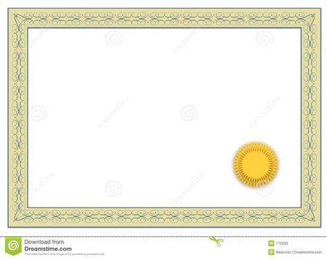 scholarship award certificate templates blank certificate stock photos image 772233