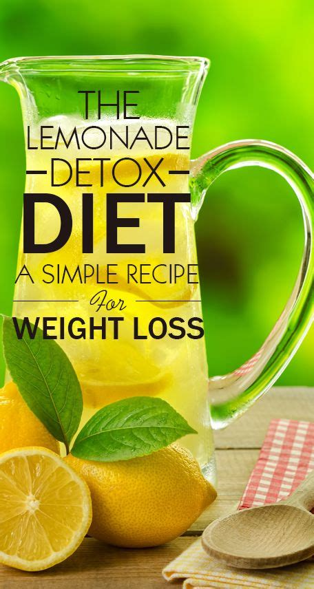 Detox Lemonade Diet Recipe