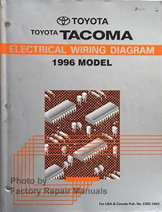 1996 Toyota Tacoma Electrical Wiring Diagrams Original