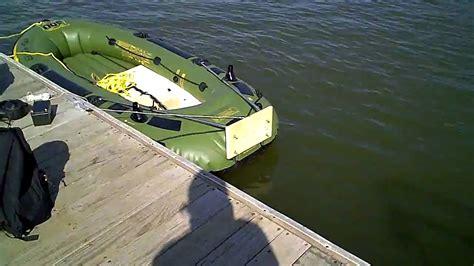 Inflatable Boat Fish Hunter by Sevylor Fish Hunter Hf 360 Youtube