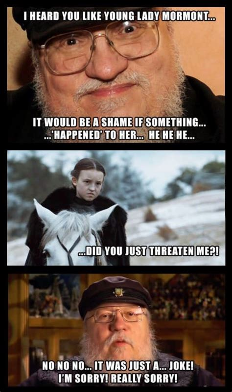 Lyanna Mormont Memes - don t mess with lyanna mormont