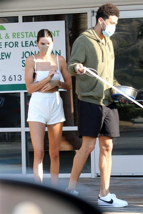 kendall jenner and devin booker stop by a pet shop while ...