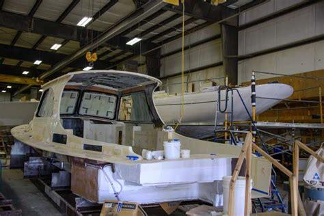 Hinckley Boat Construction by Hinckley Yachts Factory Tour Where Cruising Dreams Come True