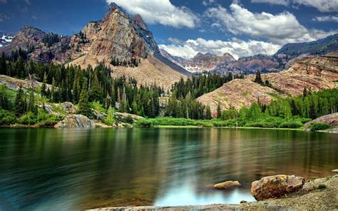 Mountain, Nature Wallpapers Hd / Desktop And Mobile