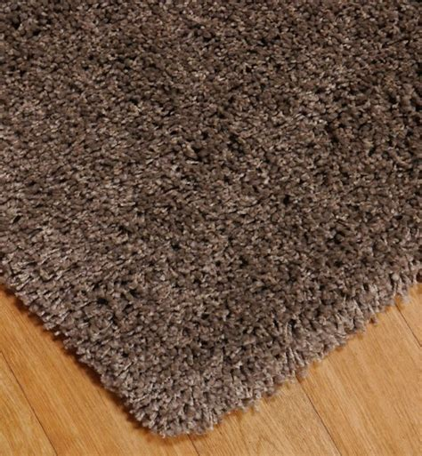 Deep Pile Rugs by Luxury Deep Pile In Taupe 80 X 150cm