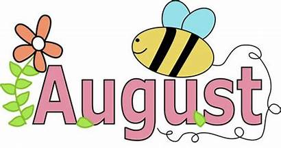 Month Clipart August Summer