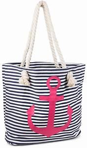 Tasche Mit Anker : stylebreaker strandtasche in streifen optik mit anker schultertasche shopper damen 02012038 ~ Eleganceandgraceweddings.com Haus und Dekorationen