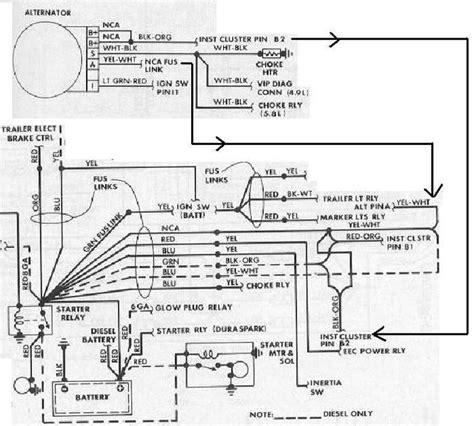 1986 Ford F150 Wiring by 1986 F150 Alternator Problem Help F150online Forums