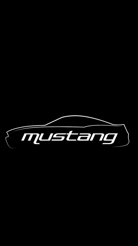 Mustang Logo Iphone Wallpaper - impremedia.net