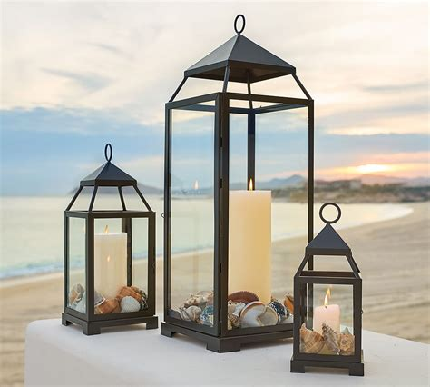 outdoor lantern lights four outdoor lighting ideas for a pottery barn