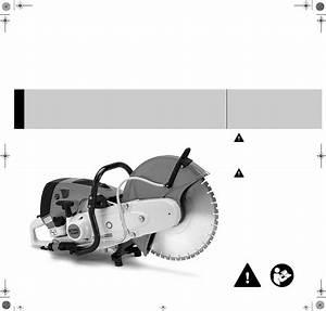 Stihl Ts 700 Cutquik Instruction Manual