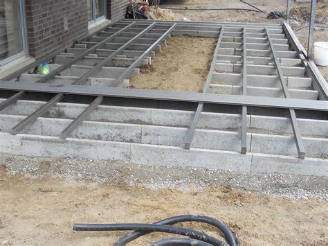 terrasse wpc unterkonstruktion wpc terrasse galabau m 228 hler wpc garten kleve