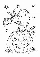 Zum Ausmalen Fledermaus Pertaining Ausmalbilder Coloriage Oktober Halloween Ausmalbild sketch template