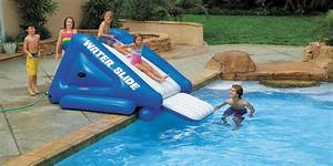 toboggan gonflable intex pour piscine enterree oogardencom With toboggan gonflable pour piscine enterree