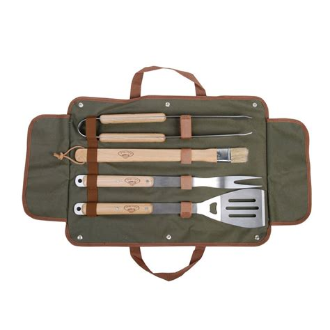 personalised bbq tool set by idyll home