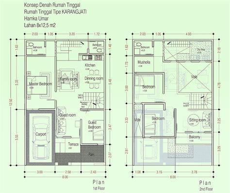 desain rumah minimalis lebar