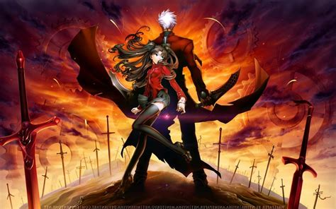 fatestay night unlimited blade works windows  theme