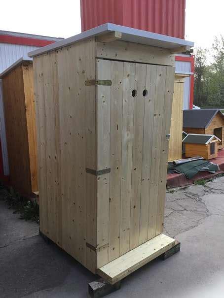 Wc Aus Holz, Gartenwc, Wc Mit Behälter, Holztoilette, €