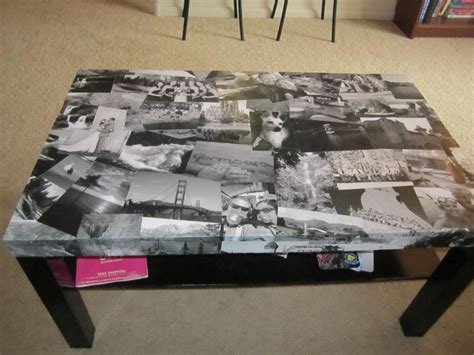 10 creative ways to decoupage your furniture coffe table