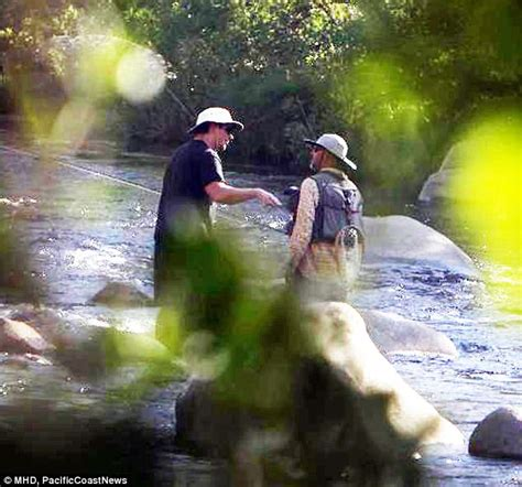 Christian Bale Takes Fly Fishing Lessons For Cheney Role