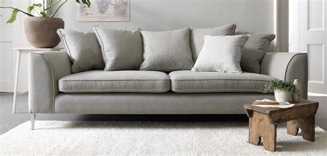 Contemporary Microfiber Sofa by Contempory Sofas Andre Armen Living Blue Fabric
