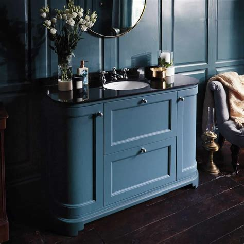 bayswater  curved door basin cabinet uk bathrooms