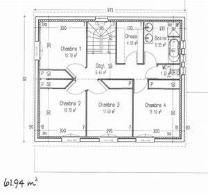 avis sur notre plan maison a etage avec 4 chambres 127m2 With plan maison 4 chambres etage