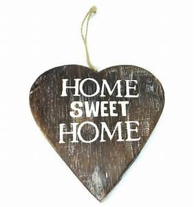 Plaques De Portes : plaque de porte originale coeur en bois vieilli home ~ Melissatoandfro.com Idées de Décoration