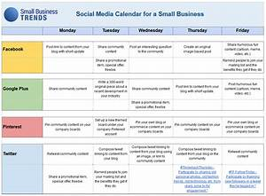 social media calendar template for small business With social media planning calendar template