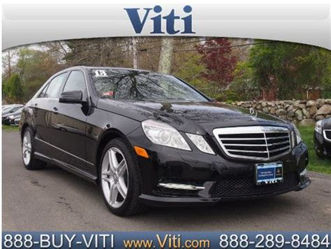 New car prices, special offers, reviews Find used 2013 MERCEDES BENZ E550 4MATIC SEDAN - P2 PKG - PARKTRONIC -LOADED! in Tiverton, Rhode ...