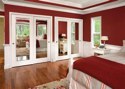 Mirror Impression Bypass Closet Doors  Interior Doors